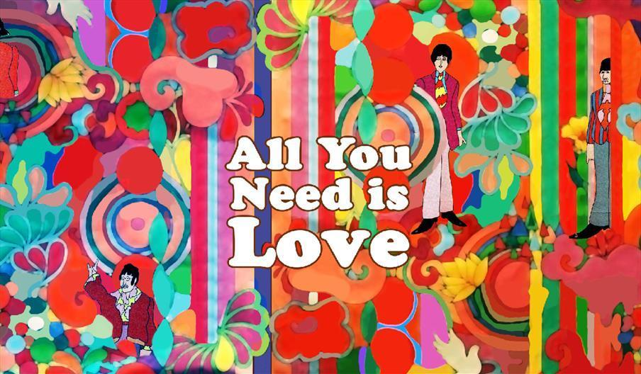 All You Need Is Love Pop Art
