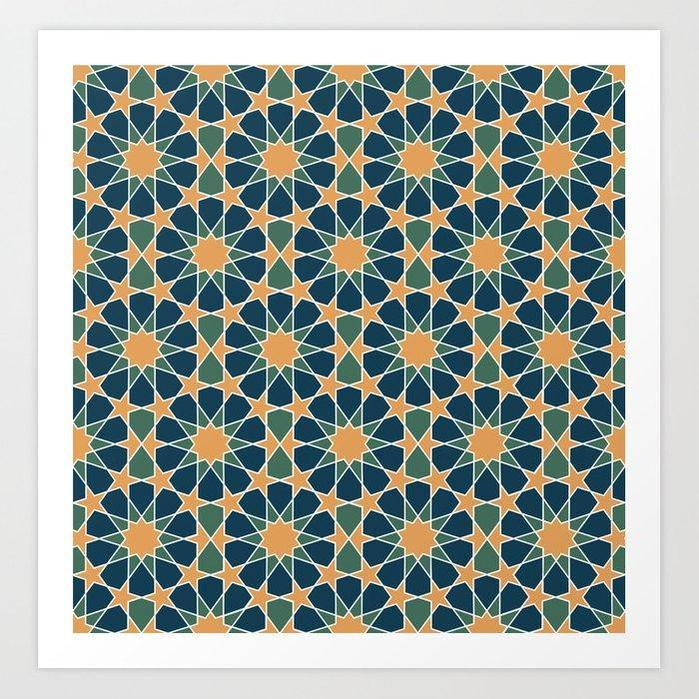 Islamic geometrical design