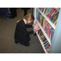 Enjoying the library