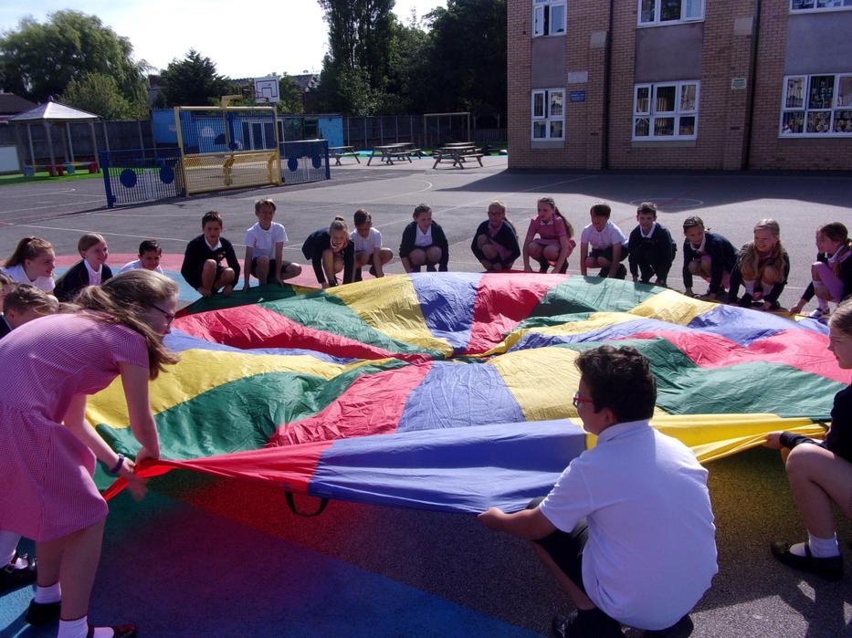 Parachute prayers!