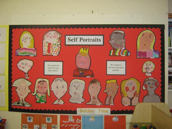 Year 1 - Self Portraits