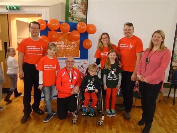Thank you for all your donations for Go Orange day