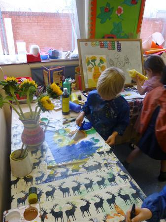 Art week, Sunflowers & sketching