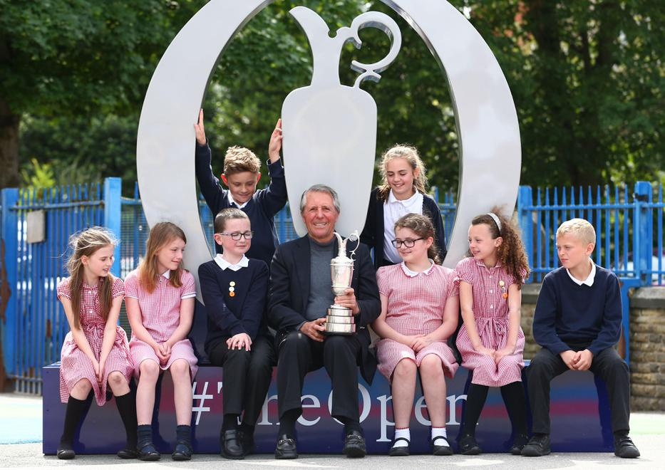 Year 5 with Gary Player
