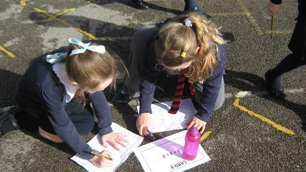 Maths of the Day! Active maths in Year 2