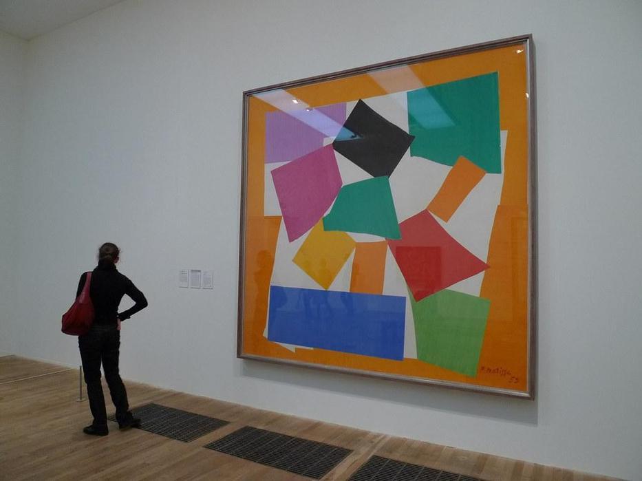 Henri Matisse - The Snail 1953