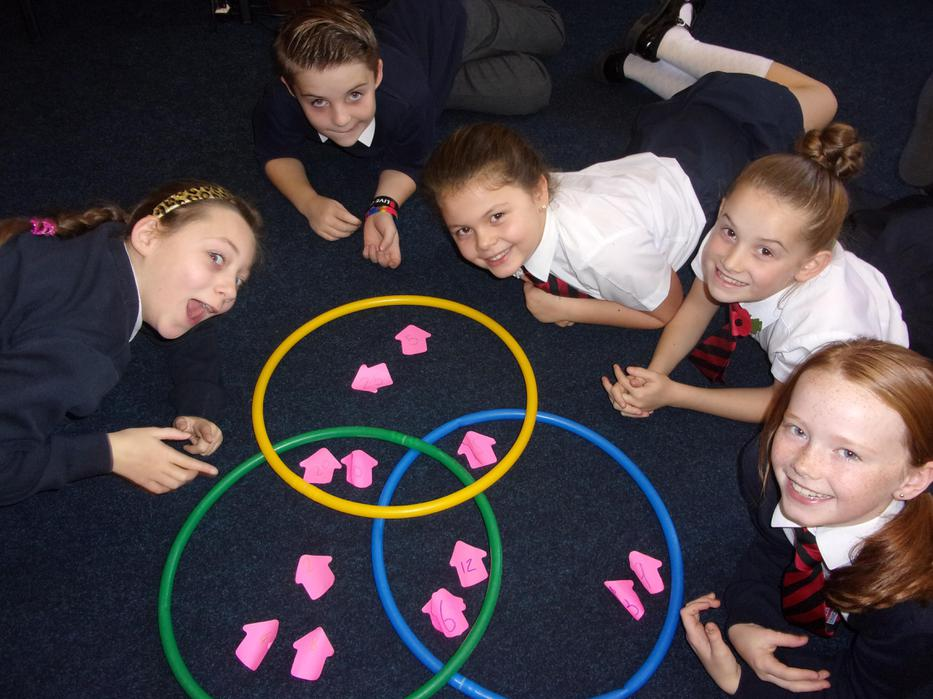 Sorting multiples on Maths
