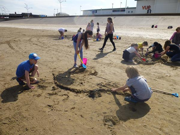 Building longboats from sand!