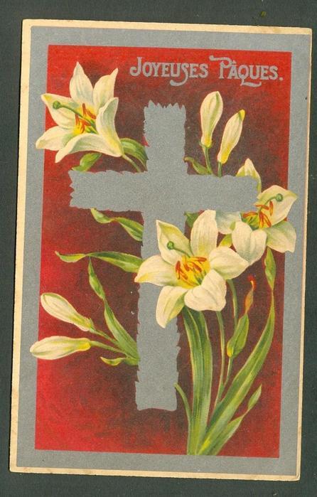Une croix de Paques