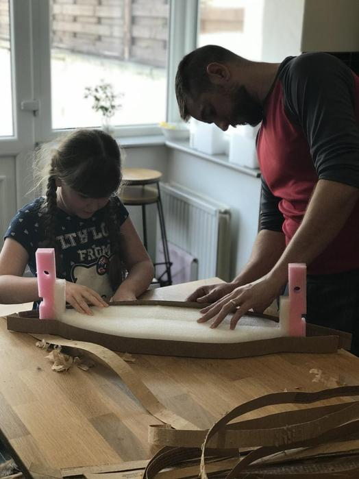 Getting started with some help from Dad
