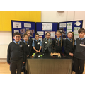 Discovery Club project stand