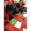 Making Brazilian flags