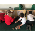 Creating our Stone Age cave art