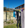 Helping to hang out the washing ☀️