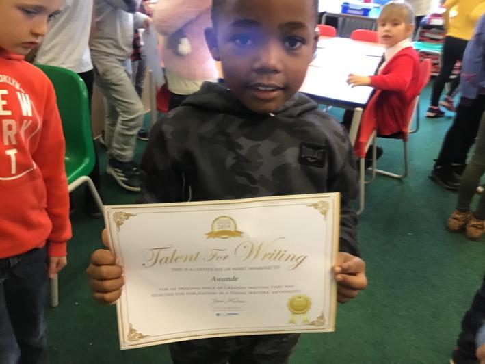 Congratulations Awande!