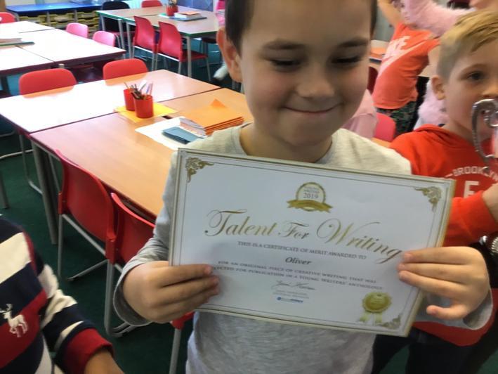 Congratulations Oliver!