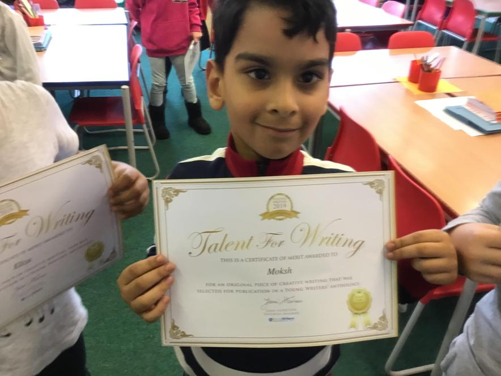 Congratulations Moksh!