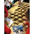 Investigating the alpaca fur blanket
