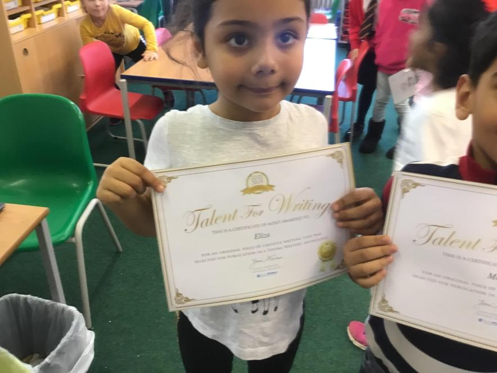 Congratulations Eliza!