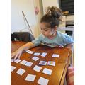 Thursday's Maths- Making comparison cards.