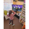 Dancing to Superheroes Unite! Our class favourite.