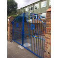 The new school gates