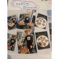 Baking brownies at home during our Fantastic foods week!