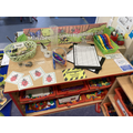 Our Mini-Beast Investigation Lab is open for us all to use!
