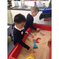 We encourage development of maths skills by learning through play