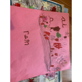 Some wonderful ai writing- this child drew Angry Red A!