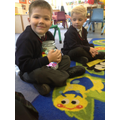 Children are encouraged to reflect and pray together during lessons