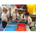 At St Richard's we encourage a love of Maths from the EYFS