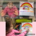 Tuesday's writing task was to make a window poster to say thank you to our Key Workers