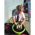 We learn from the EYFS how important it is to care for our world