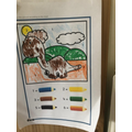 Great colouring and number work Levi!
