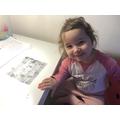 Lili's super learning!