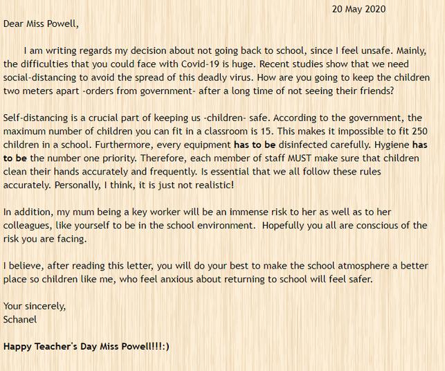 Schanel's letter.png