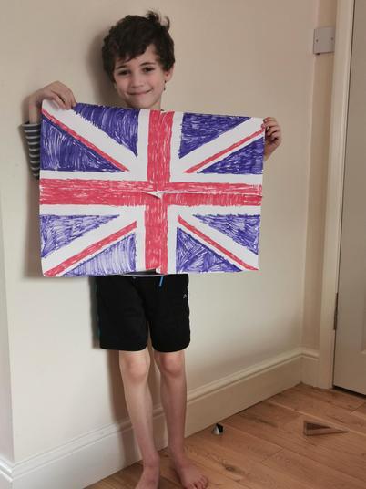 Lucas' VE Day flag.jpg