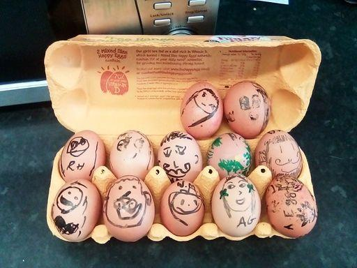 Eggciting egg experiments
