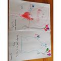 Super alien drawings by Letty!