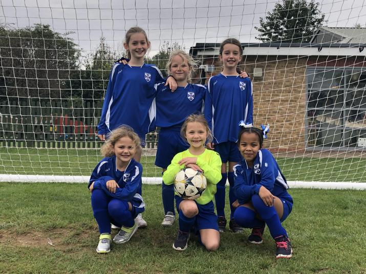 Year 4 Girls Oct 2019