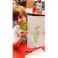 Qais- Leaves art