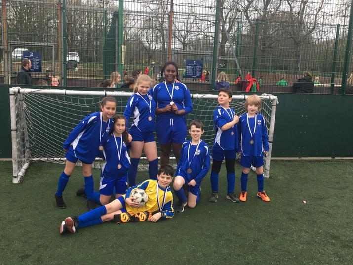 Mixed Football Bronze Medallists! Mar 2019