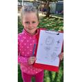 Zara- sketching lesson