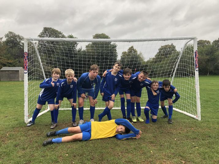 Boys 3-1 winners Vs The Russell (away) Oct19