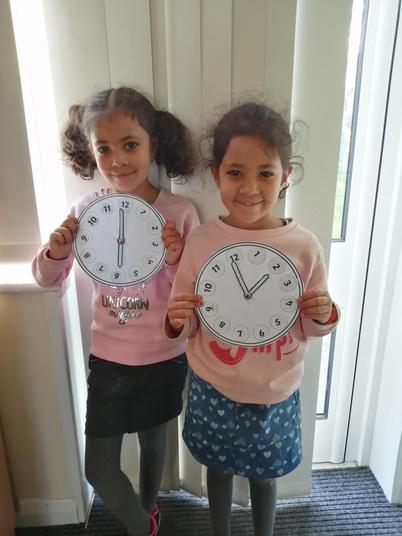 Tiana and Olia's clocks.jpg