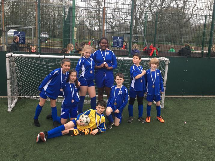 Borough Mixed Football Bronze Medals!