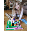 Letty's awesome Lego creation!