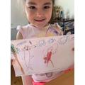Bianca's super art work!