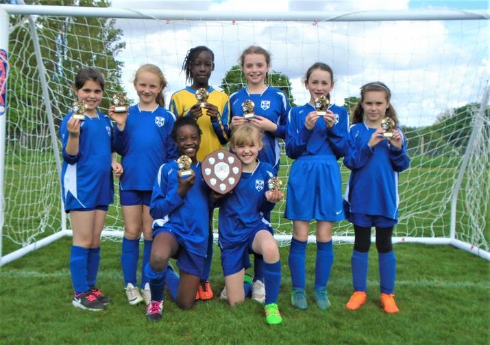 Girls Borough Year 5 Chalice Winners 2019!